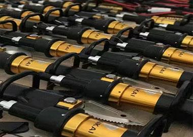 某支队25套液压破拆工具组圆满交货。